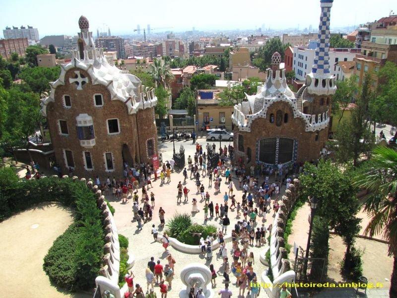 Barcelone histoire d 39 a - Casa vives gaudi ...