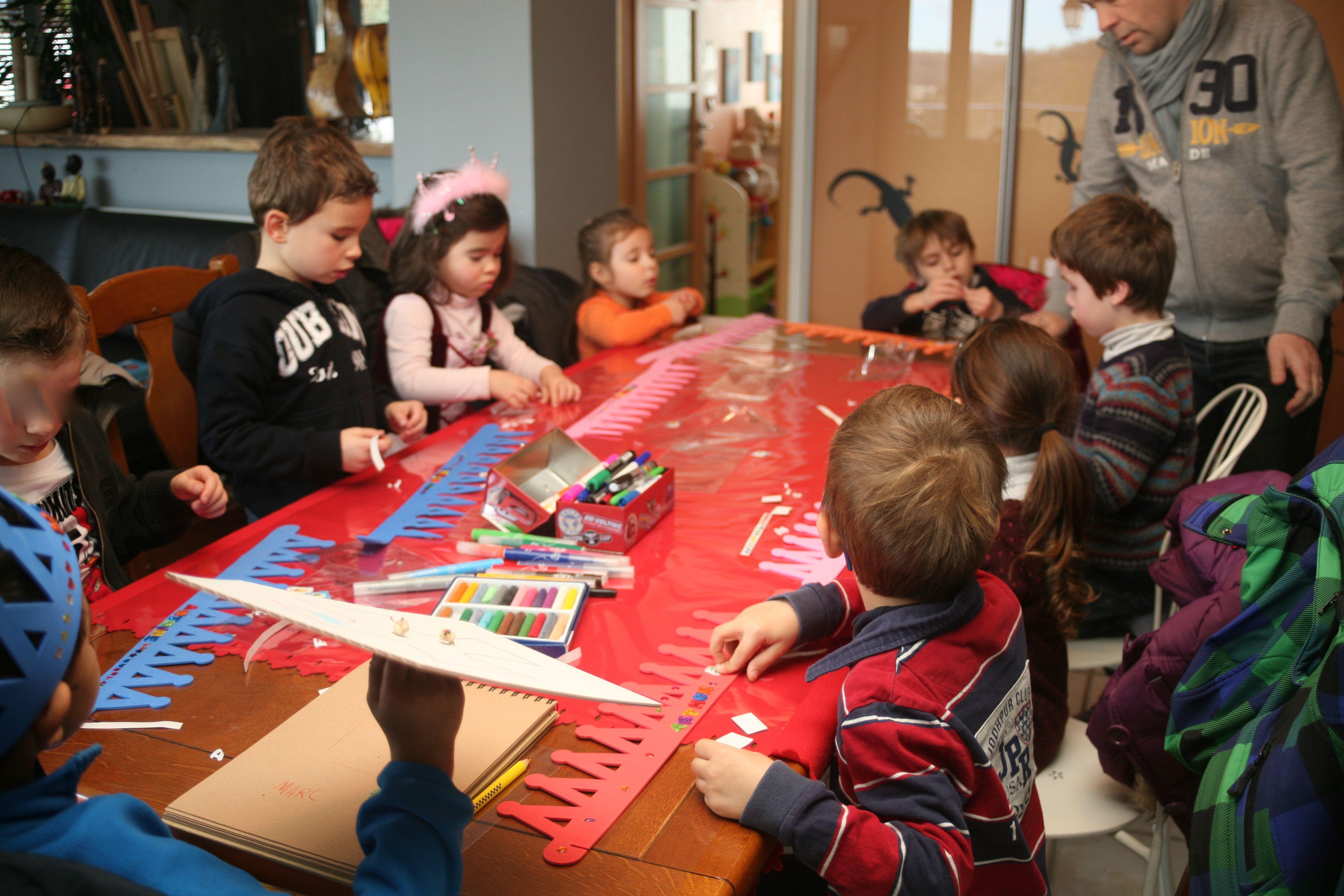 anniversaire chevalier 5 ans